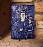 Our Lady of Health Venice 12x8cm